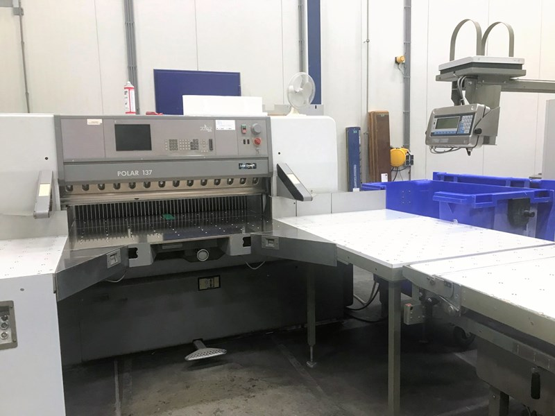Show details for Polar 137 E Cutting Line