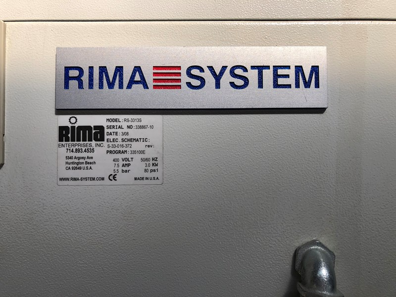Rima RS 3313S stacker