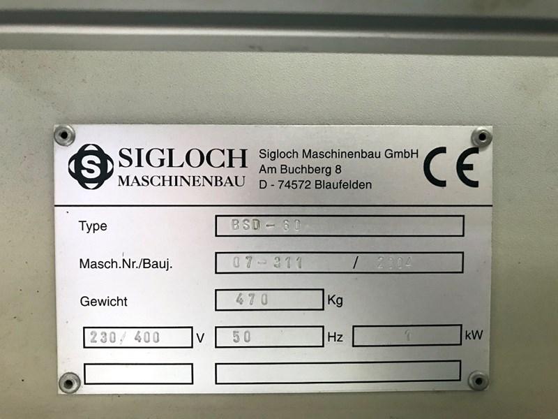 Sigloch BSD 60 stacker