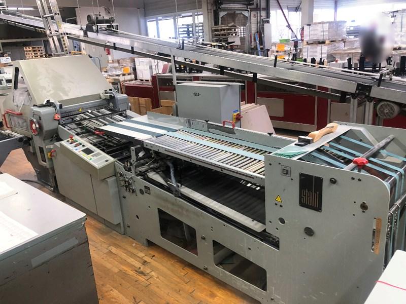 Show details for Stahl KD 56-4 KTL folding machine + SBP 46