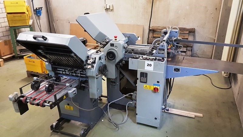 Show details for Stahl T36 4/4 folding machine