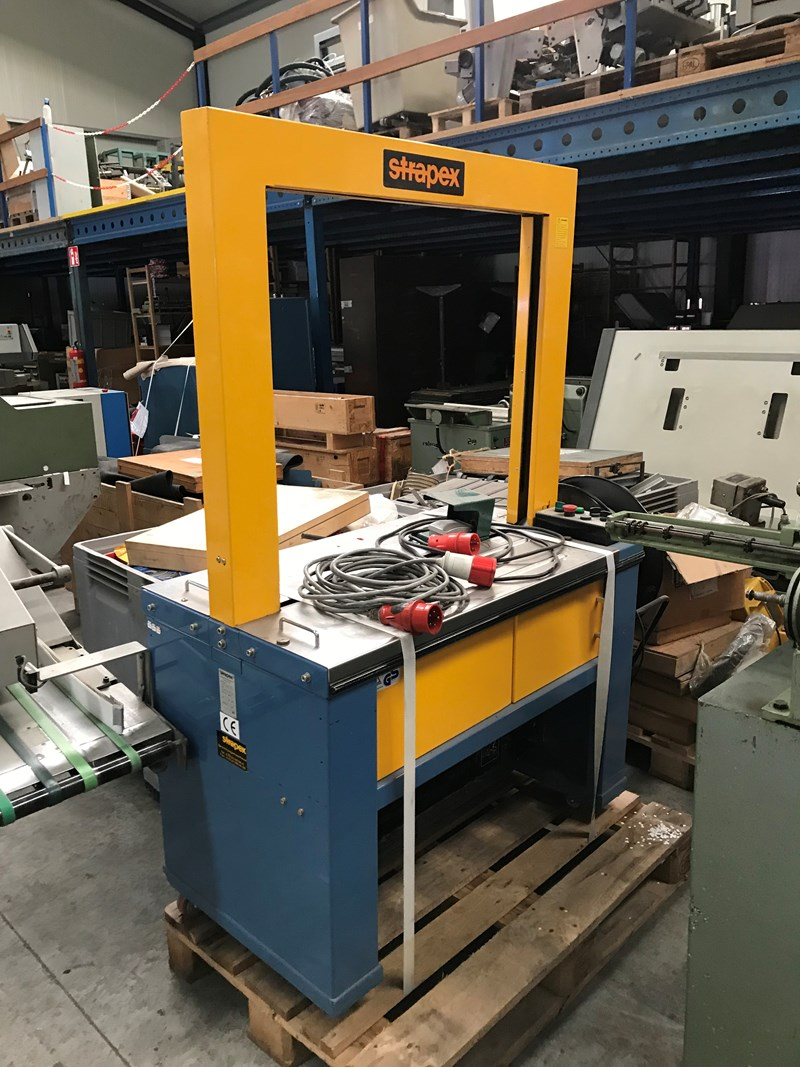 Show details for Strapex Ecopack strapping machine