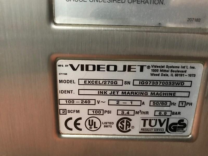 Videojet  Excel 270G