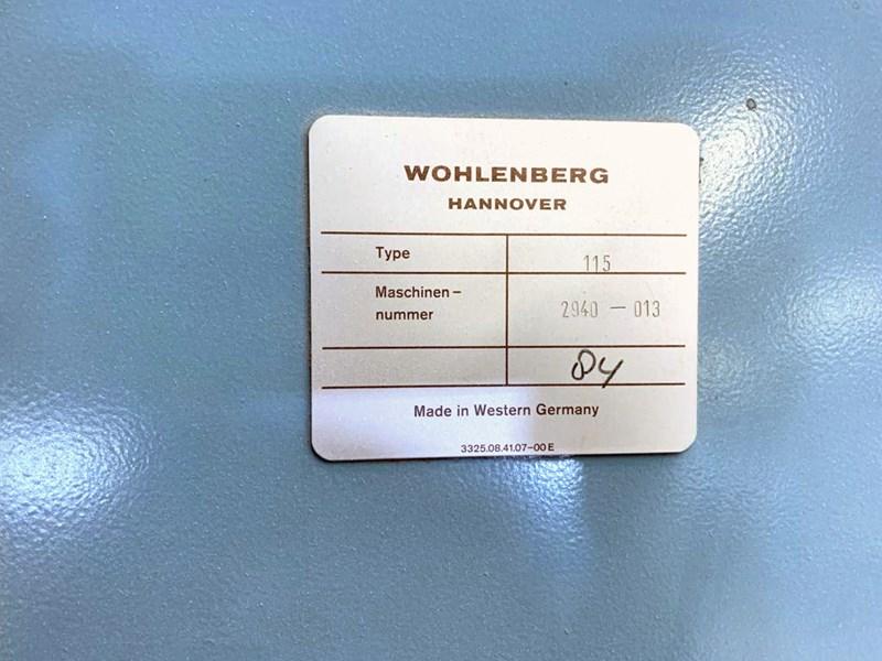 Wohlenberg 115 cutting line