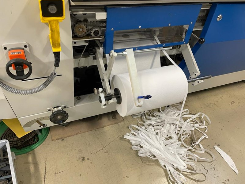 Wohlenberg Quickbinder perfect binder