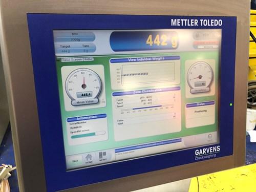Mettler Toledo Garvens Checkweighing