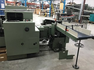 KOLBUS  BF40 CASING IN LINE Hard Cover Book Production