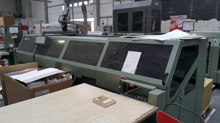 KOLBUS  BF525F CASING IN LINE Hard Cover Book production