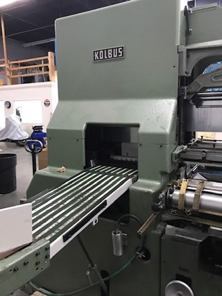 KOLBUS  BF40 CASING IN LINE Case Production