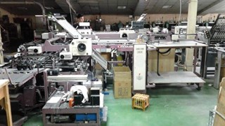 SHOEI STAR  SPB74/4KLL Folding machines