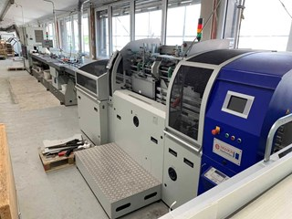 SIGLOCH  SB 6000 Hard Cover Book block production / sewing