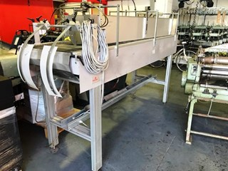 SOLEMA  BOOK BLOCK FEED CONVEYOR Hard Cover Book block production / sewing