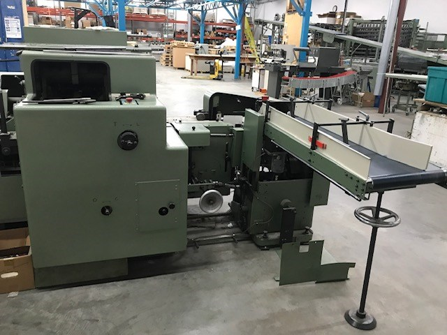 Show details for  KOLBUS  BF40 CASING IN LINE