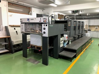 Heidelberg SM 74-4-P3-H Sheet Fed