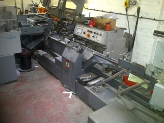 Heidelberg Prosetter 562 Saddlestitchers