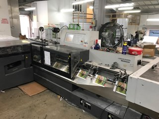Heidelberg ST350 Saddle Stitcher