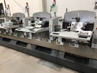 Heidelberg TAS350 feeder Saddlestitchers