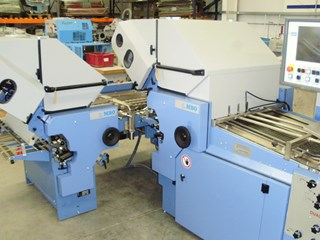 MBO T800 4/4 AUT Section Folder Folding machines