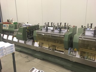 Muller Martini Presto 1550 saddle stitcher- 2000 Saddlestitchers