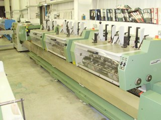 Muller Martini Valore Saddle Stitcher Saddlestitchers