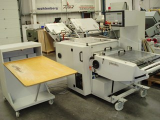 Palamides BA 700 & PL 700 Folding machines