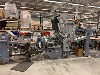 Stahl KD78 4KZ-PF Section Folder Folding machines