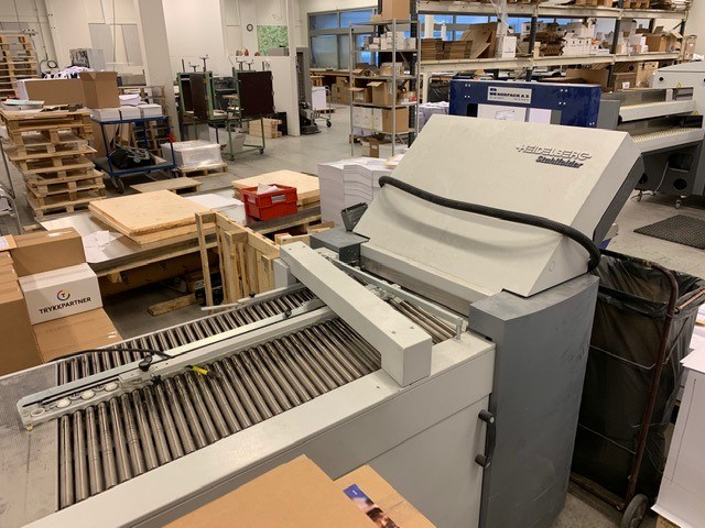 Show details for Heidelberg TA52 4/4 Section Folder