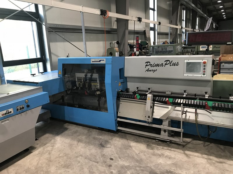 Muller Martini Prima Plus Amrys saddle stitcher- 2006