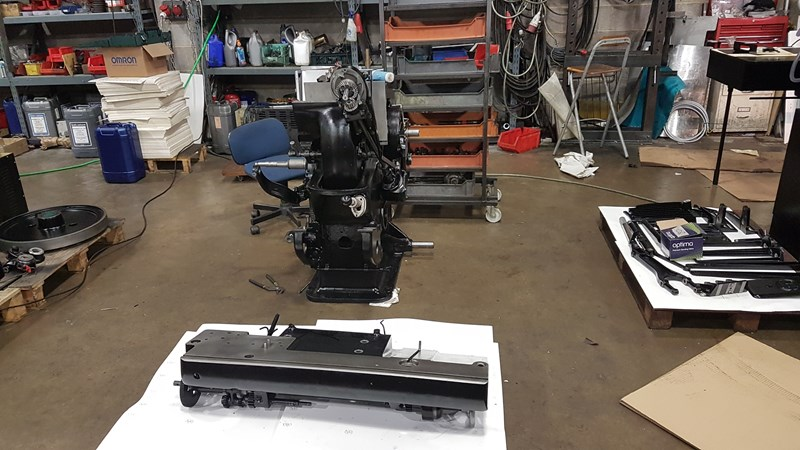Show details for Heidelberg 10x15 Platen Rebuilt with side to side foiling system