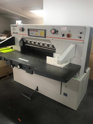 CP Bourg FL 92 RM-1 Guillotines/Cutters
