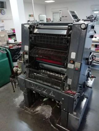 Heidelberg GTO 52+ N+P Gebrauchte Bogenoffsetmaschinen