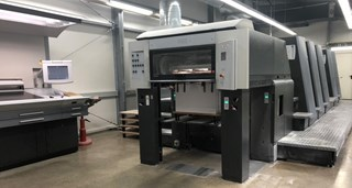 Heidelberg Speedmaster CD 74 5P3-C Sheet Fed