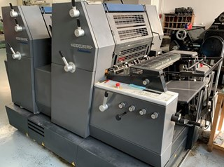 Heidelberg Printmaster GTO 52 2+ with N+P Sheet Fed