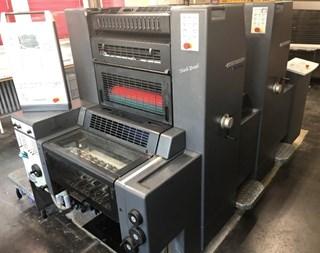 Heidelberg Printmaster 52 2 Machines offset à feuilles
