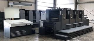 Heidelberg Printmaster 74 4 单张纸胶印机