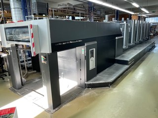 Heidelberg Speedmaster 102 5P3LX2 单张纸胶印机