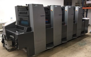 Heidelberg Speedmaster 52 4P3 Sheet Fed