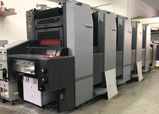 Heidelberg Speedmaster 52 5 Sheet Fed
