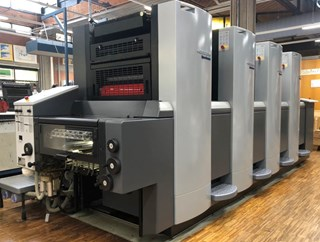 Heidelberg Speedmaster 52 4 Sheet Fed