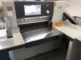 Polar N 92 PLUS with Jogger R-2 Guillotines/Cutters