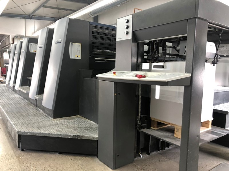 Show details for Heidelberg Speedmaster CD 74 5P3-C