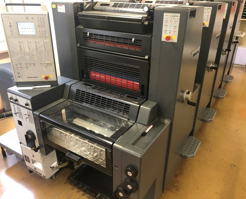 Heidelberg Printmaster 52 4
