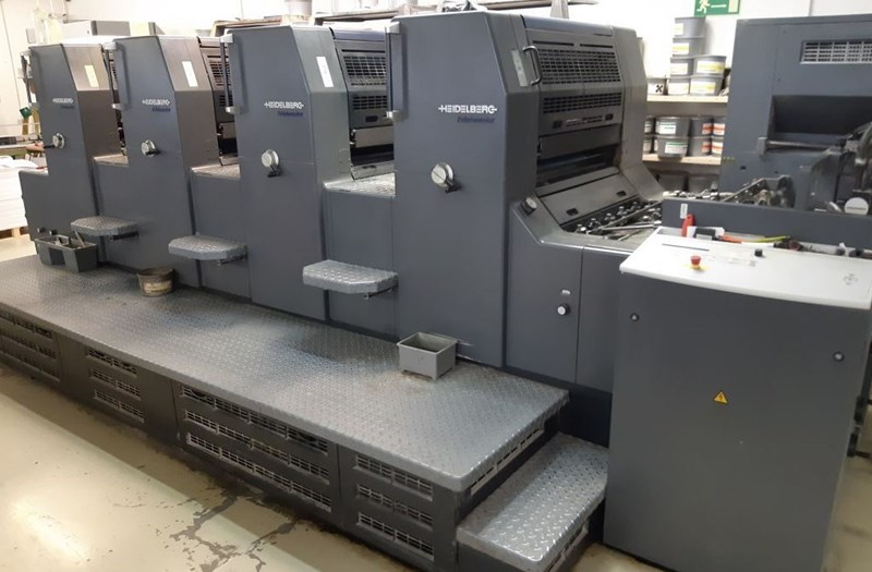 Show details for Heidelberg Printmaster 74 4