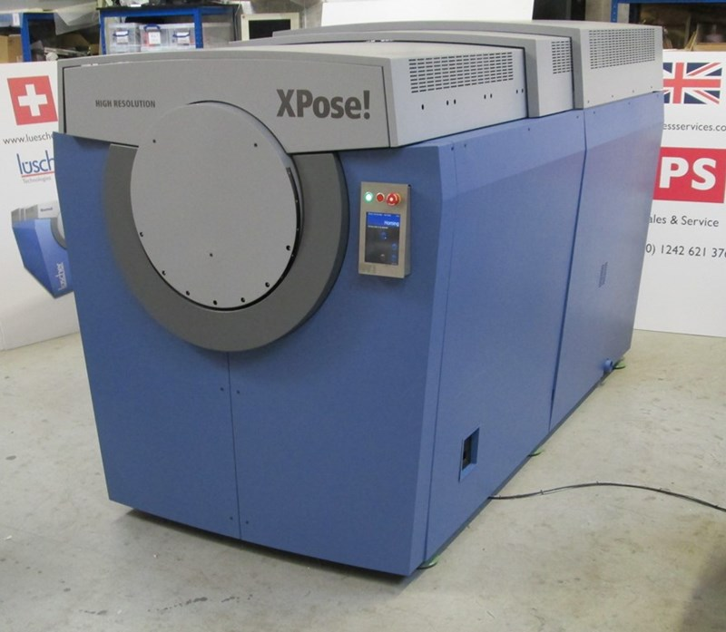 Luscher Thermal/Flexo Hybrid 2000/4000/8000DPI