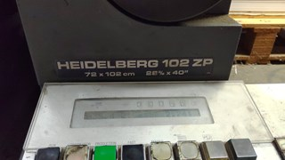 Heidelberg SM102-ZP Sheet Fed