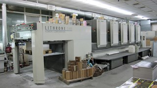 Komori Lithrone LS540 Sheet Fed