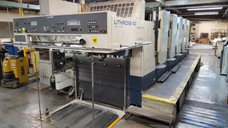 Komori Lithrone L540 EM Sheet Fed