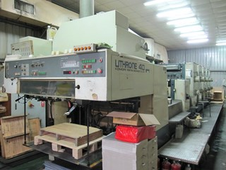 1989 KOMORI L540+C+UV Sheet Fed