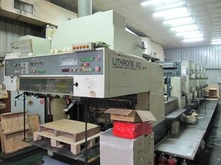 komori L540+C UV Sheet Fed