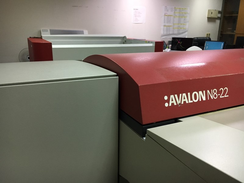 Show details for Agfa Avalon N8-22 + SCREEN PT-R86005